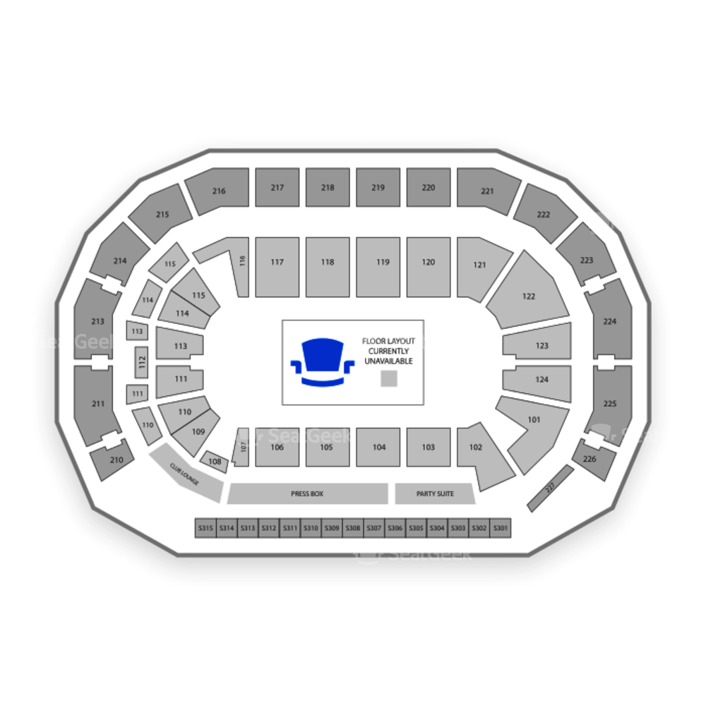 AMSOIL Arena Seating Chart Family