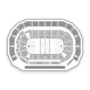 AMSOIL Arena Seating Chart Hockey