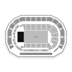 AMSOIL Arena Seating Chart Concert