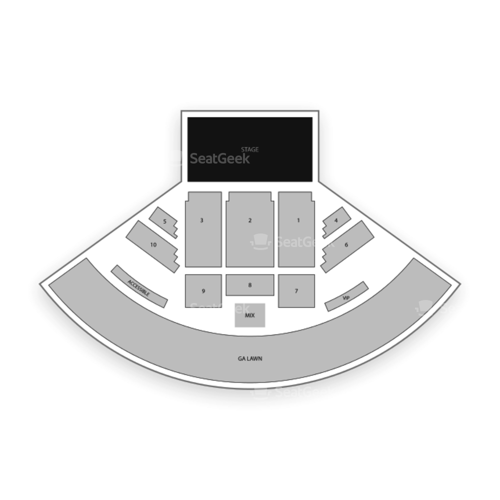 Charter Heritage Park Amphitheatre Seating Chart Concert
