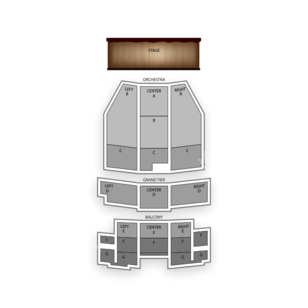 5th Avenue Theatre Seating Chart Concert