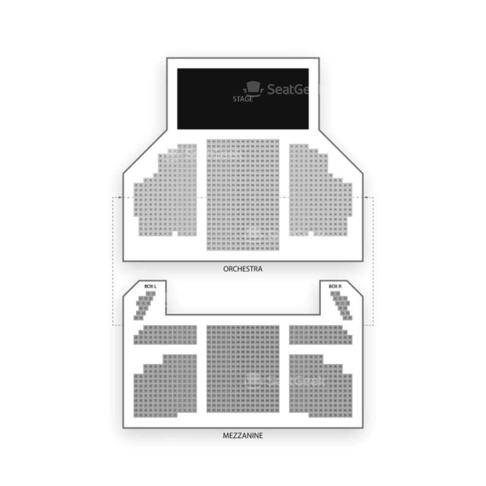 Al Hirschfeld Theatre Seating Chart Dance Performance Tour