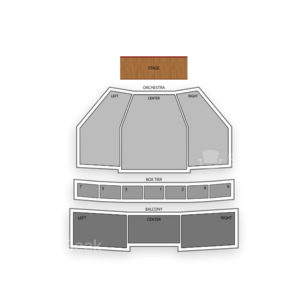Kennedy Center Eisenhower Theater Seating Chart Dance Performance Tour