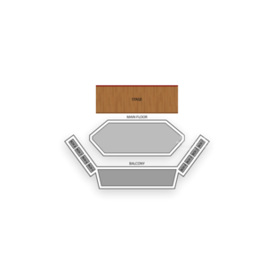 Royal George Theatre Seating Chart Theater