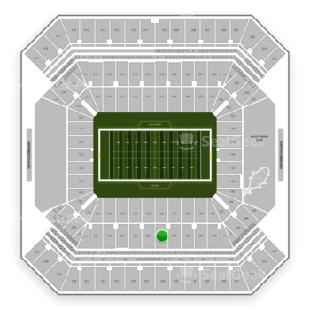 Tampa Bay Buccaneers at Raymond James Stadium Section 236 View
