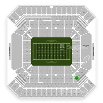 Tampa Bay Buccaneers at Raymond James Stadium Section 242 View