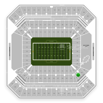 Tampa Bay Buccaneers at Raymond James Stadium Section 243 View