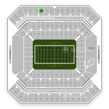 Tampa Bay Buccaneers at Raymond James Stadium Section 313 View