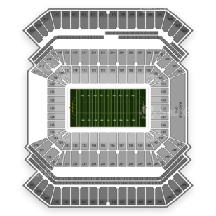 South Florida Bulls Football Seating Chart