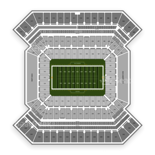 Raymond James Stadium Seating Chart NCAA Football