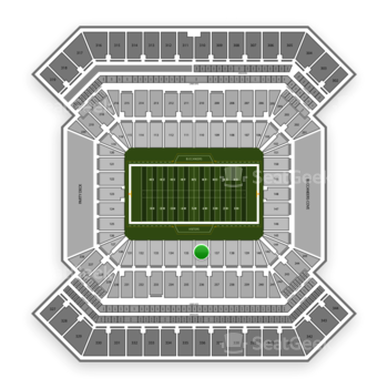 Tampa Bay Buccaneers at Raymond James Stadium Section 136 View