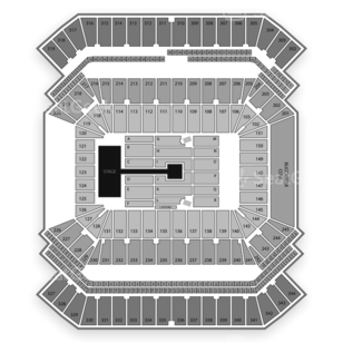 Raymond James Stadium Seating Chart Concert