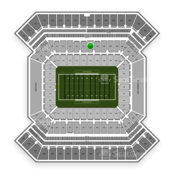 College Football Playoff National Championship Game at Raymond James Stadium Section 210 View