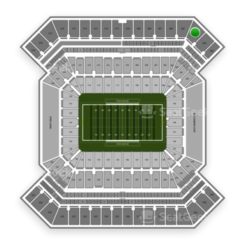 College Football Playoff National Championship Game at Raymond James Stadium Section 304 View