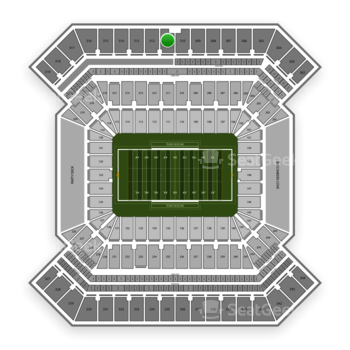 College Football Playoff National Championship Game at Raymond James Stadium Section 311 View
