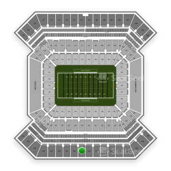 College Football Playoff National Championship Game at Raymond James Stadium Section 335 View