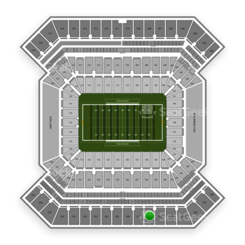 College Football Playoff National Championship Game at Raymond James Stadium Section 338 View