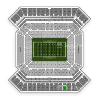 College Football Playoff National Championship Game at Raymond James Stadium Section 339 View