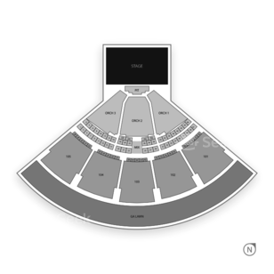 Verizon Wireless Amphitheatre at Encore Park Seating Chart Concert