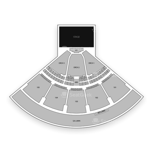 Ameris Bank Amphitheatre Seating Chart Concert