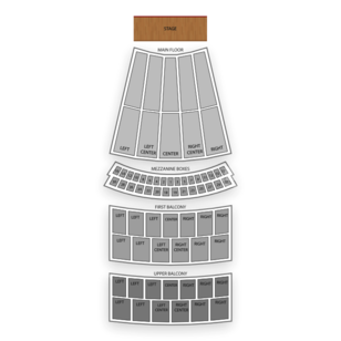 Civic Opera House Seating Chart Broadway Tickets National