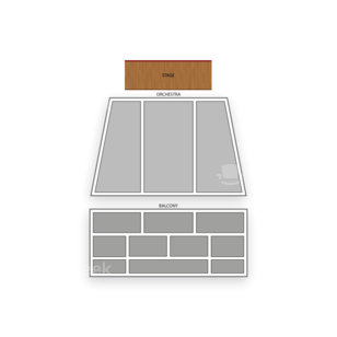 Laxson Auditorium Seating Chart Concert