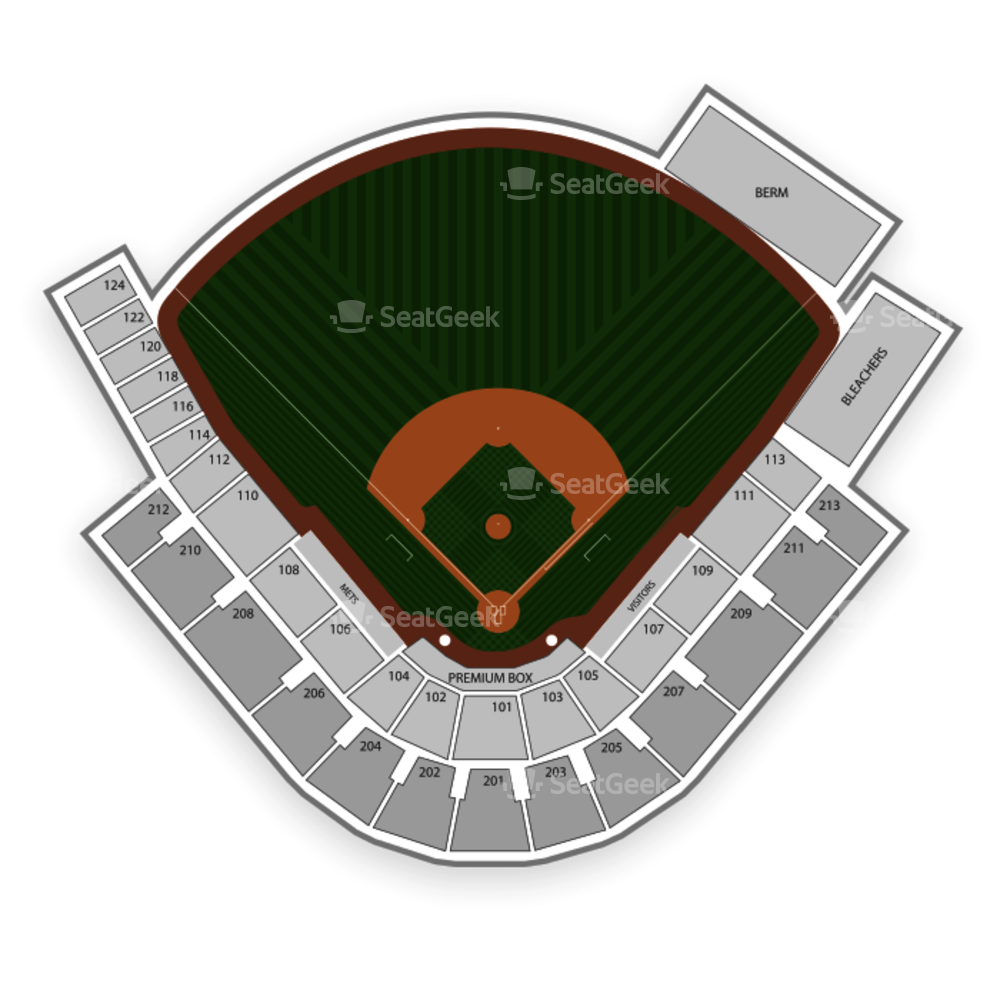 New York Mets Seating Chart