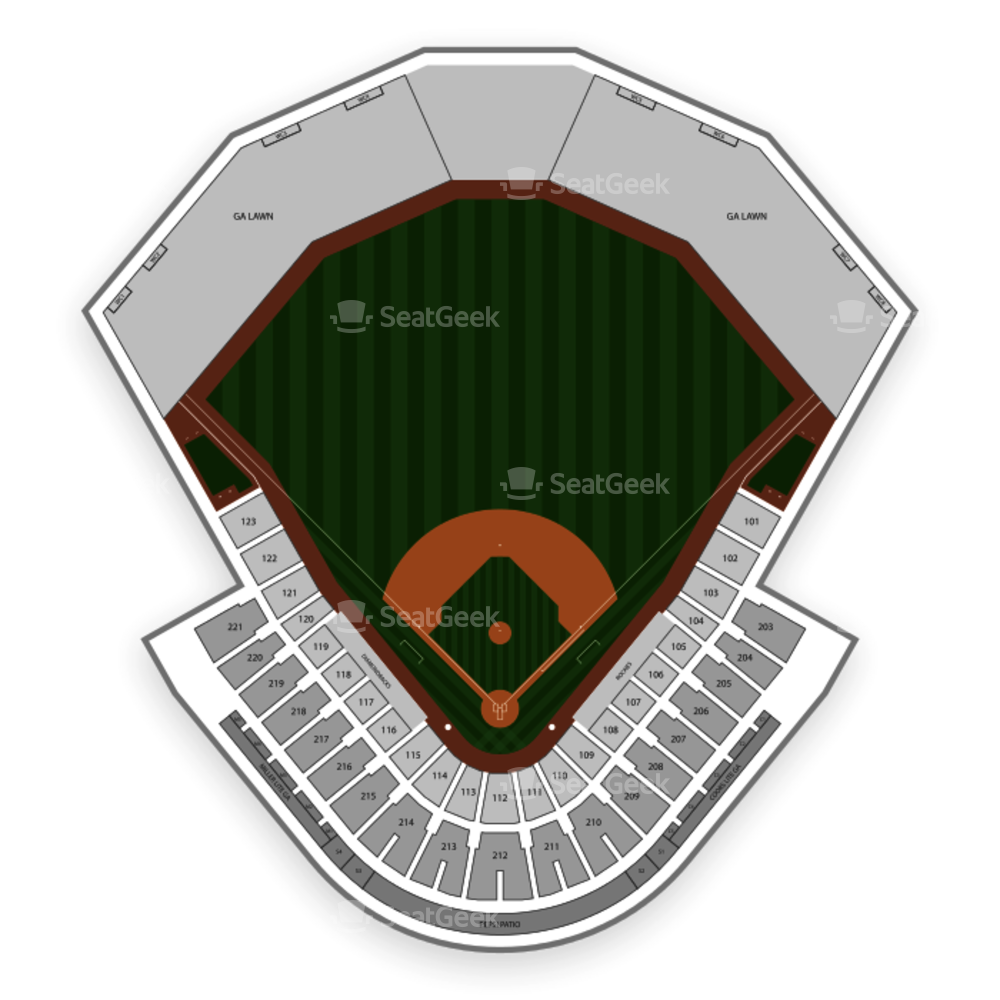 Salt River Fields Seating Chart MLB