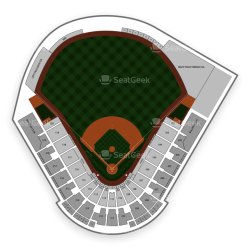 George M. Steinbrenner Field Seating Chart Concert