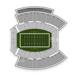 Jones AT&T Stadium Seating Chart NCAA Football