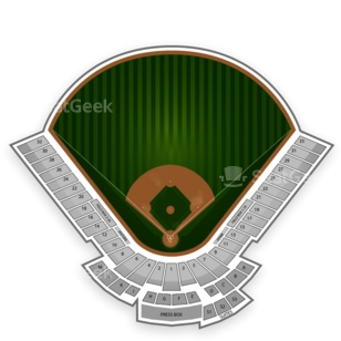 Oakland Athletics Seating Chart