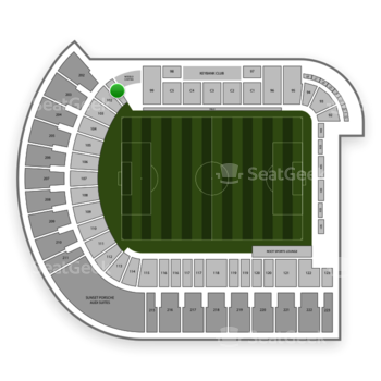 Portland Timbers at Providence Park Section 101 View