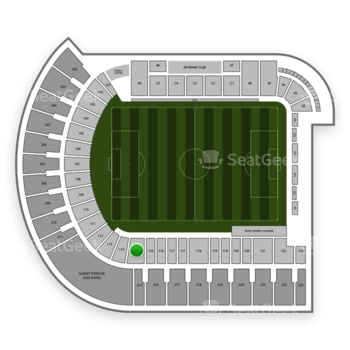 Portland Timbers at Providence Park Section 115 View