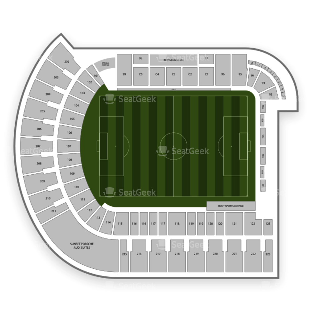 Portland Timbers Seating Chart