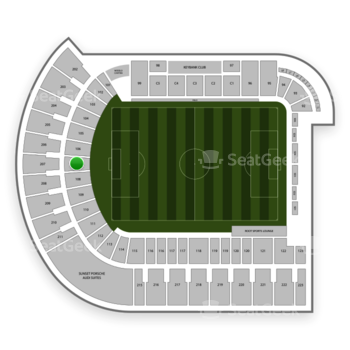 Portland Timbers at Providence Park Section 107 View