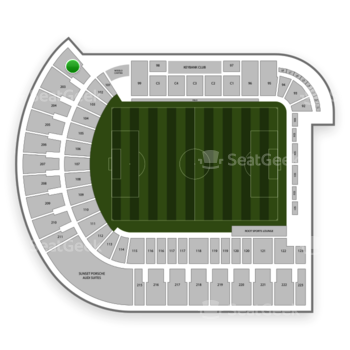 Portland Timbers at Providence Park Section 202 View