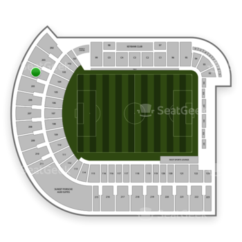 Portland Timbers at Providence Park Section 204 View