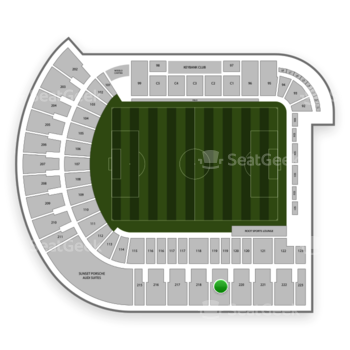 Portland Timbers at Providence Park Section 219 View