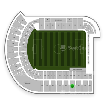 Portland Timbers at Providence Park Section 220 View