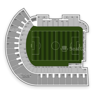 providence park seating chart interactive seat map seatgeek. Black Bedroom Furniture Sets. Home Design Ideas