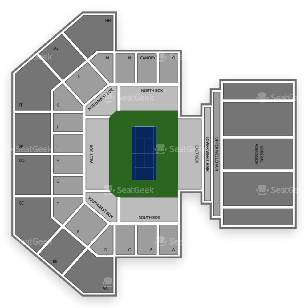 Delray Beach Tennis Center Seating Chart Tennis