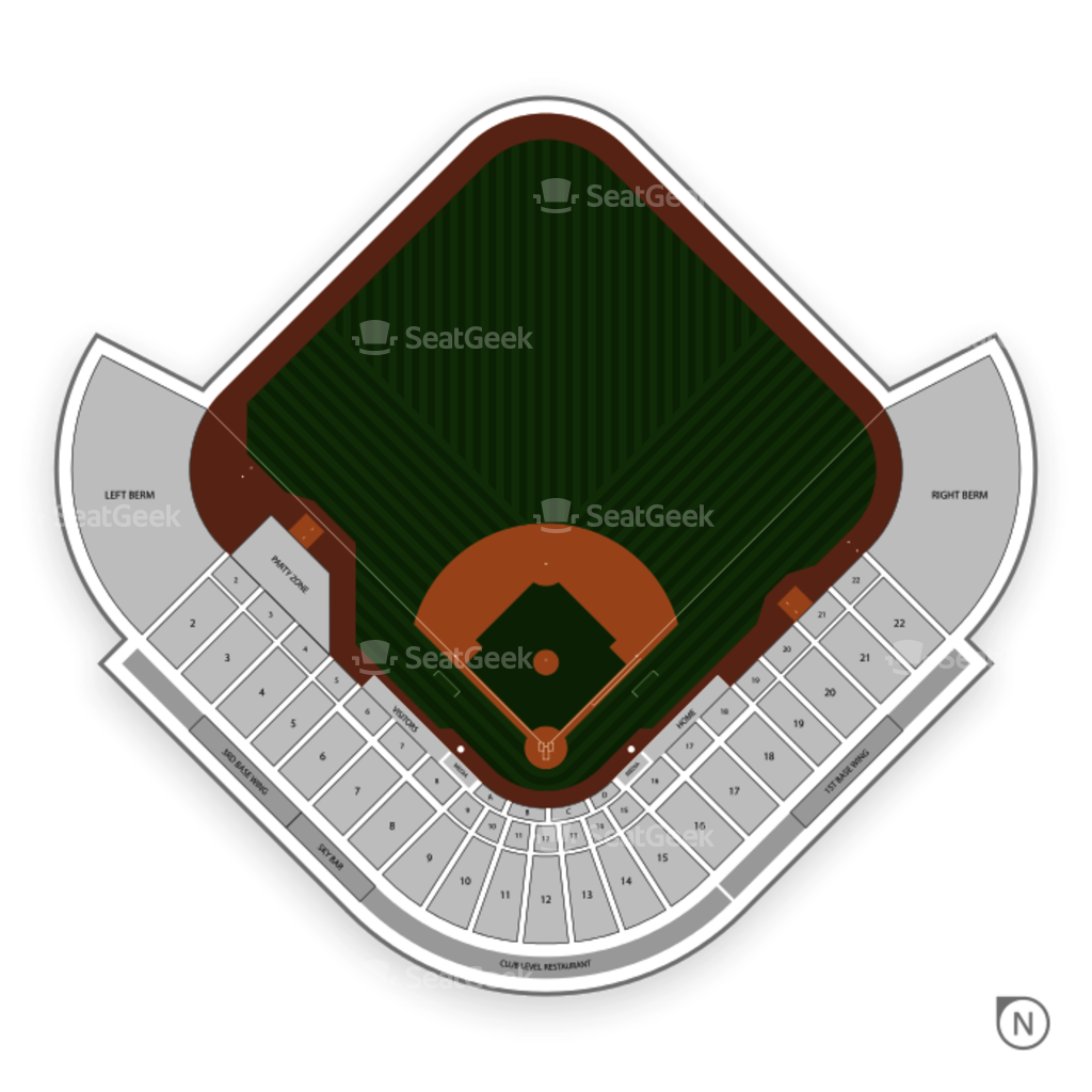 Cashman field seating chart seatgeek