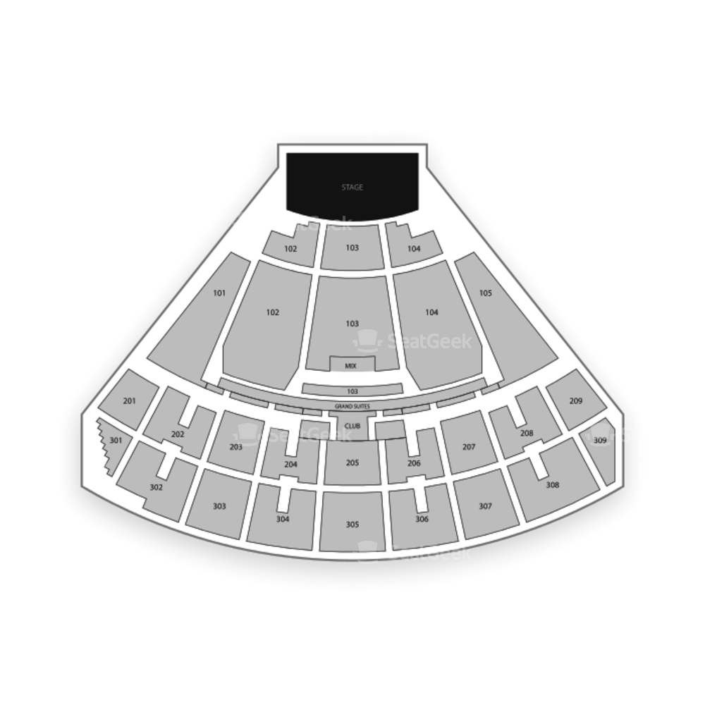 Smart Financial Centre Seating Chart Concert