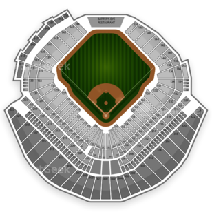 Tampa Bay Rays Seating Chart