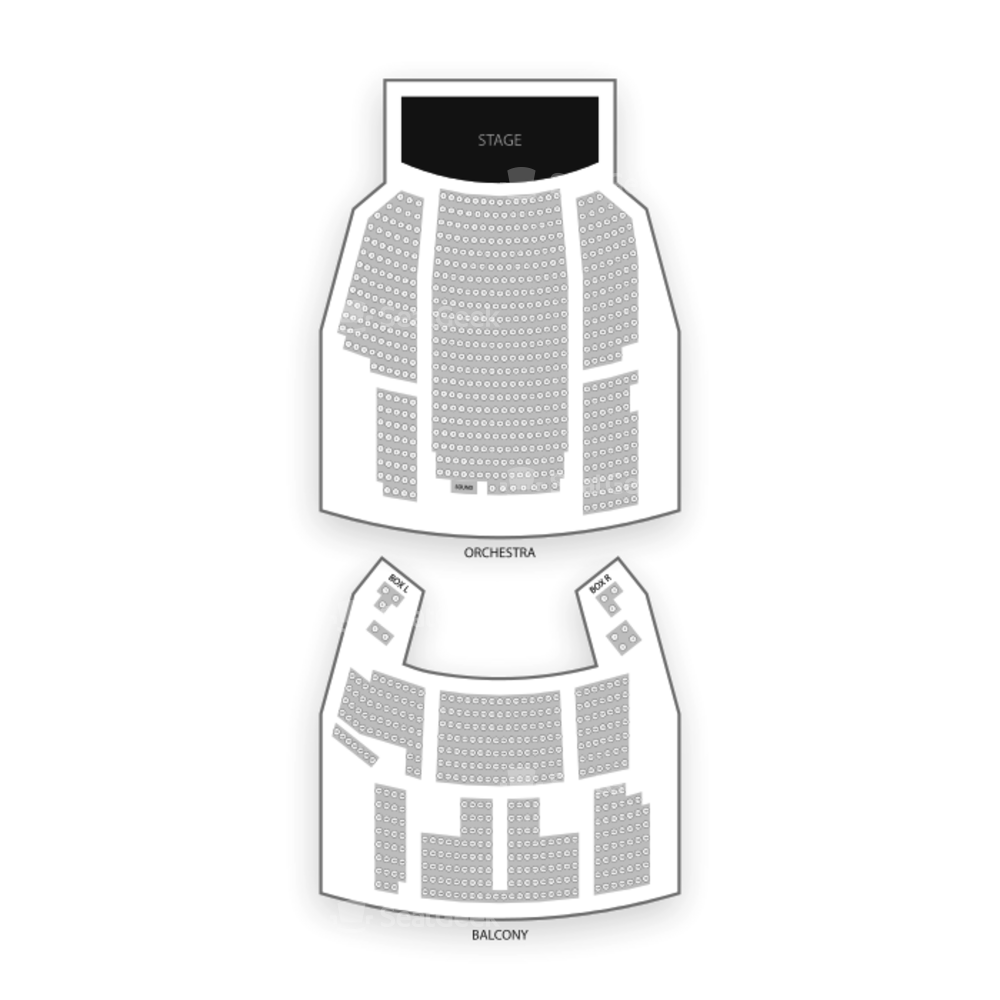 Avon Theatre Seating Chart Concert