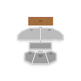 House of Blues - Houston Seating Chart Comedy