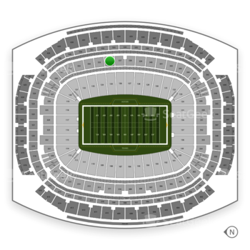 Houston Texans at NRG Stadium Section 336 View