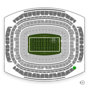 Houston Texans at NRG Stadium Section 601 View