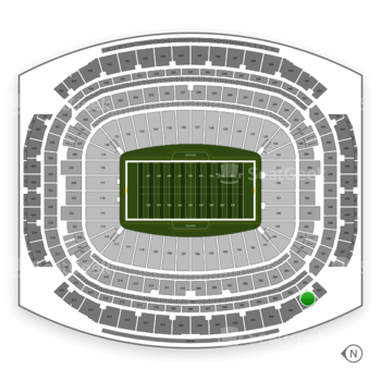 Houston Texans at NRG Stadium Section 602 View