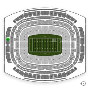 Houston Texans at NRG Stadium Section 623 View
